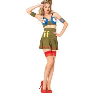 Dresses & Skirts - Sexy bomber girl Halloween adult outfit